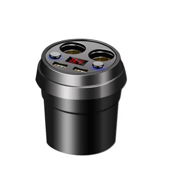 Pentium星の車載充電器の車は杯の双usb双点煙孔のモデルを充電して持って数が現れます自動車の充電器B 56双点煙孔の車は杯の双シガラタタの項を担当します。
