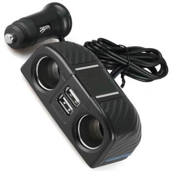 速美特車載充電器日本車充速充電器シガラター引引二アウトレット自動車シガラター拡張電源DZ 273 C